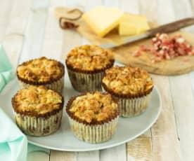 Schwarzbrot-Muffins