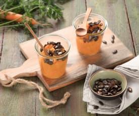 Karotten-Apfel-Frühstück