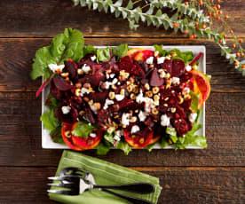 Rote-Rüben-Salat mit Blutorangenvinaigrette