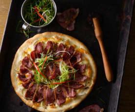 櫻桃鴨胸披薩
