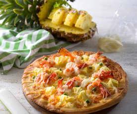 鳳梨蝦球披薩