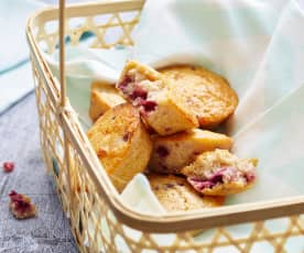 Muffins aux cerises
