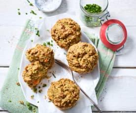 Brokkoli-Schinken-Muffins