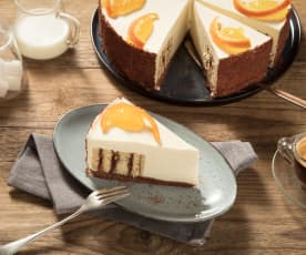 Orangen-Sauerrahm-Torte