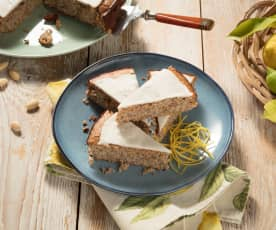 Zitronen-Mohn-Kuchen (glutenfrei)