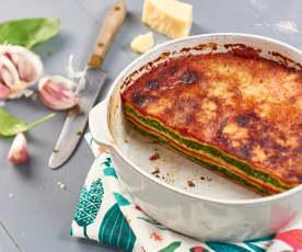 Lasagne de crêpes ricotta et épinards
