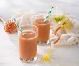 香橙木瓜飲