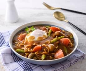 蔬菜咖哩濃湯麵