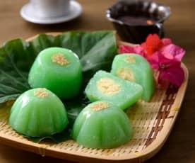 香蘭綠豆糕