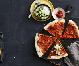 Lahmacun (Türkische Pizza)