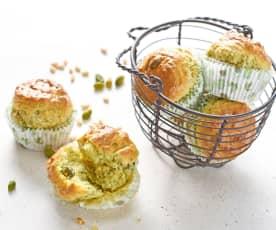 Muffins pistou/pistache