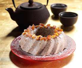 Steamed Red Bean Rice Cake
