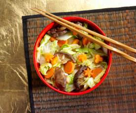 Kaiyang Cabbage (Savory Stir-Fried Cabbage)
