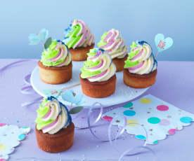 Cupcakes arc-en-ciel