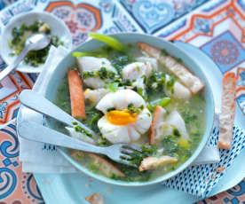 Soupe portugaise à la morue