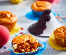 Tomaten-Muffins mit Schafskäse