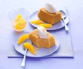 Gâteau vapeur à l'orange