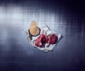 Koriandersalz für Fleisch