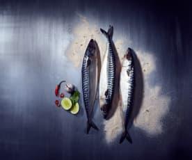 Limettensalz für Fisch