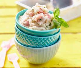 Melonen-Joghurt-Eis