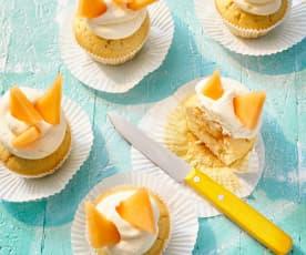 Melonen-Poke-Cupcakes