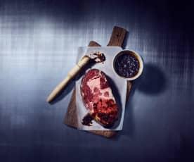 Whiskey-Marinade für Fleisch