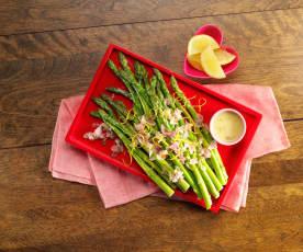 Lemon Caper Asparagus