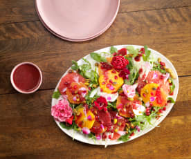 Citrus Salad with Beet Vinaigrette