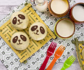 Panini panda dolci