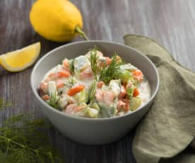 Karotten-Gurken-Salat