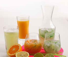 Néctar de manga e laranja