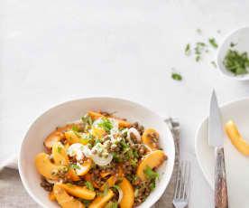 Aprikosen-Linsen-Salat