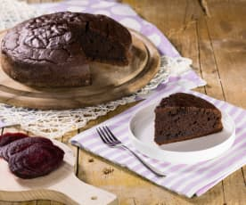 Torta cacao e barbabietola