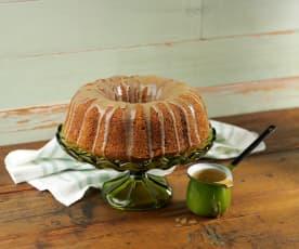 Irish Coffee Cake with Whiskey Caramel Sauce
