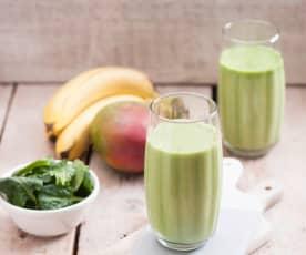 Zielone smoothie proteinowe