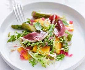 Spargel-Mango-Salat