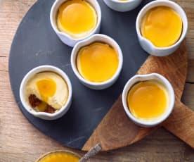 Mini cheesecake al mango