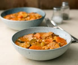 Cassoulet with Duck and Extra Veg