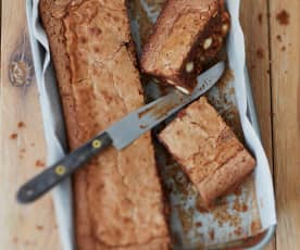 Brownie au chocolat au lait et aux amandes