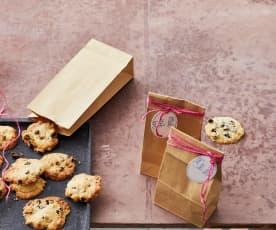 Weiße-Schokoladen-Sauerkirsch-Cookies
