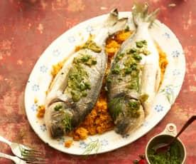 Dorade royale mit Gemüse-Couscous