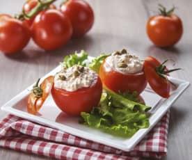 Tomates farcies au thon
