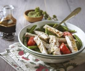 Salade de dinde et haricots verts