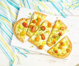 Summer Squash Flatbread