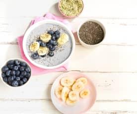 Blueberry Protein Smoothie Bowl