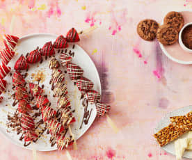 Erdbeer-Spieße