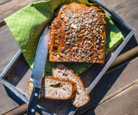 Domácí proteinový chlebík