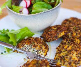 Rybí karbanátky s quinoou