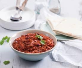 Szybkie chili con carne