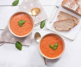 Toskańska zupa pomidorowa z chlebem